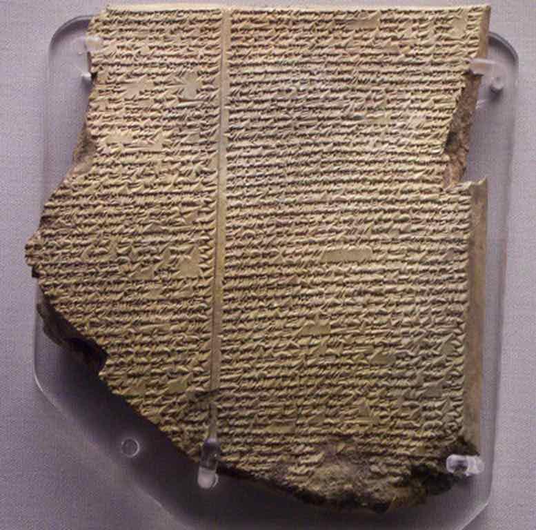Mesopotamische Tontafeln und biblische Geschichte