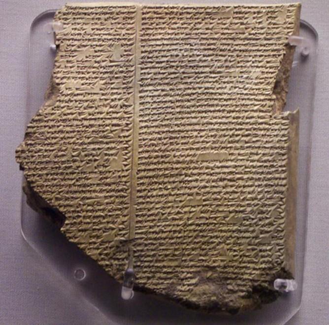 Tablettes babyloniennes et récit biblique