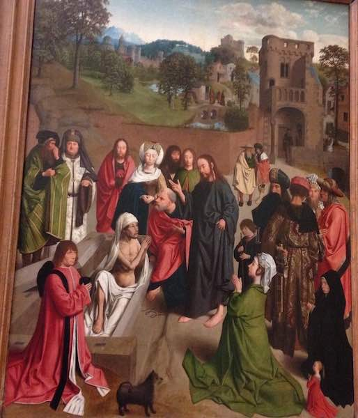 Mort et résurrection de Lazare