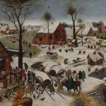 Le dénombrement de Bethléem – Pieter Bruegel
