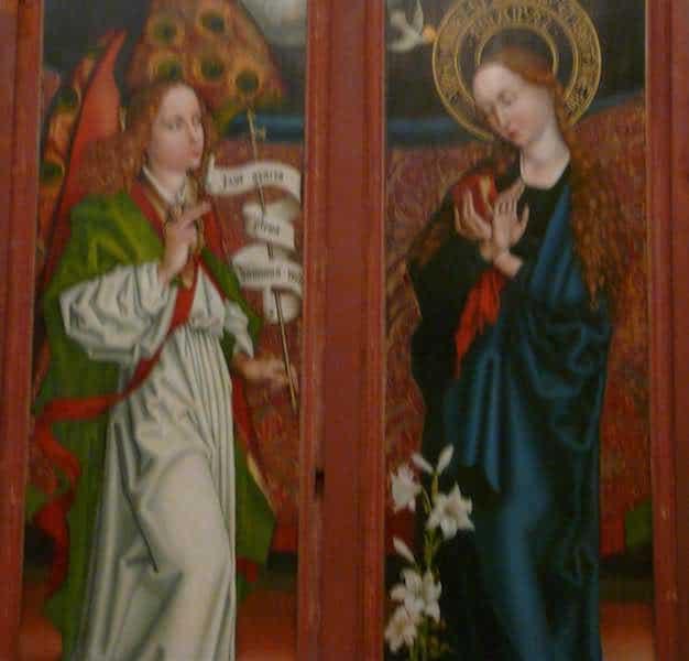 Le récit de l'annonciation à Marie