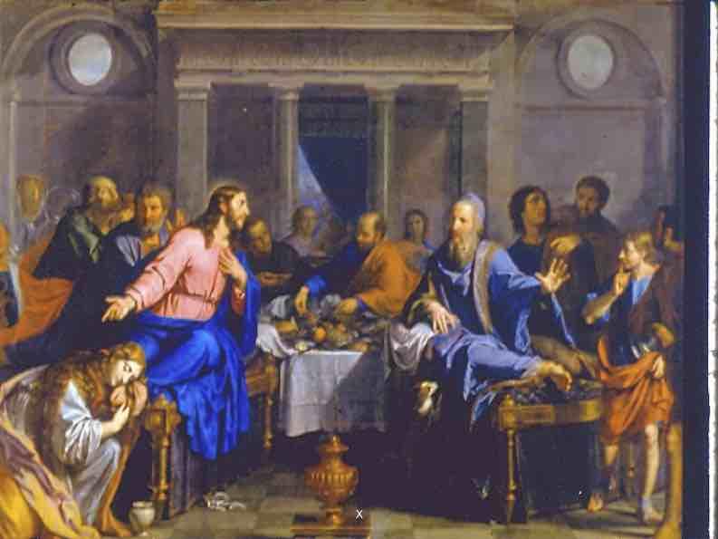 Le repas chez Simon ou la pécheresse repentante – Luc 7