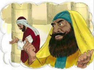 Le pharisien et le percepteur : Luc 18.9-14