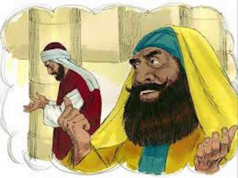 You are currently viewing Le pharisien et le percepteur : Luc 18.9-14